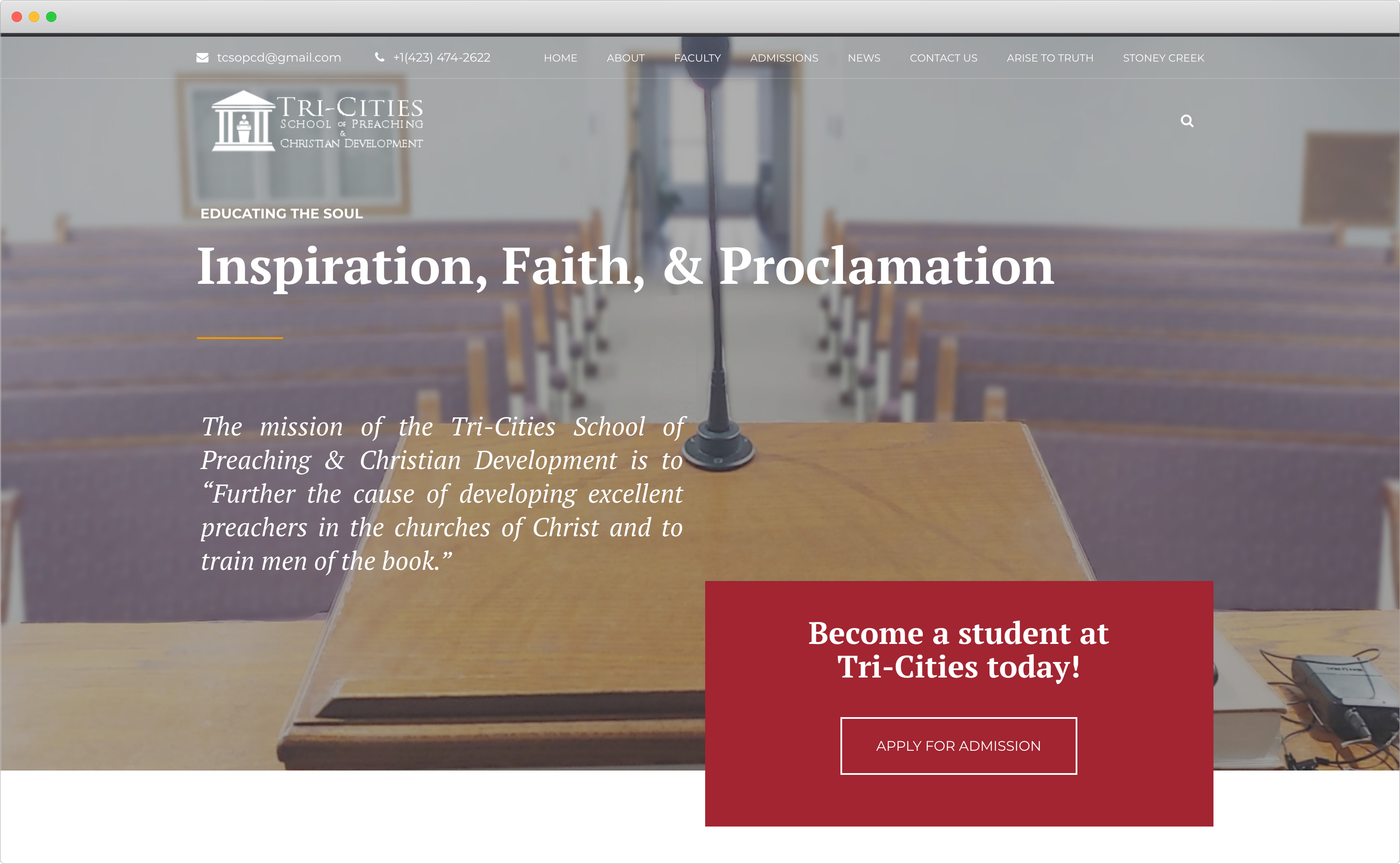 School Of Preaching cover image